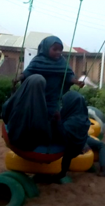 Islamiyya Student on Playground